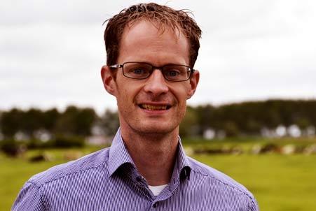 Sjoerd Hofstee, agrarisch journalist bij Persbureau Langs de Melkweg